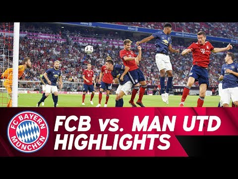 Martínez' Winning Goal | FC Bayern vs. Manchester United 1-0 | Highlights