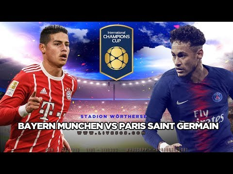 LIVE Bayern Munich vs Paris Saint Germain – ICC 2018