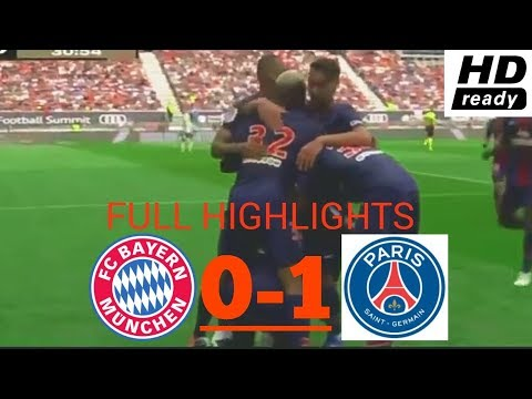 HALF TIME BAYERN MUNICH 0-1 PSG | HIGHLIGHTS ICC 2018