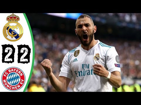 Highlights Real madrid vs Bayern 2-2 All goals Resume 01/05/2018