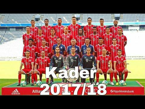 FC Bayern München Kader Saison 2017/18