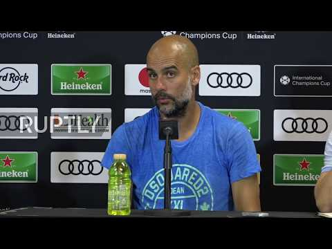 USA: City's Guardiola and Bayern's new manager take stock from pre-season tour