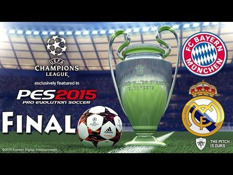 PES 2015 UEFA Champions League FINAL FC Bayern Munchen vs Real Madrid C.F.
