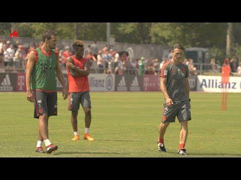 Kovac lässt seine Bayern-Stars hart schuften