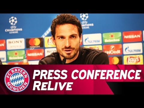 FC Bayern Press Conference w/ Heynckes & Hummels ahead of Besiktas Istanbul 🇩🇪 | ReLive