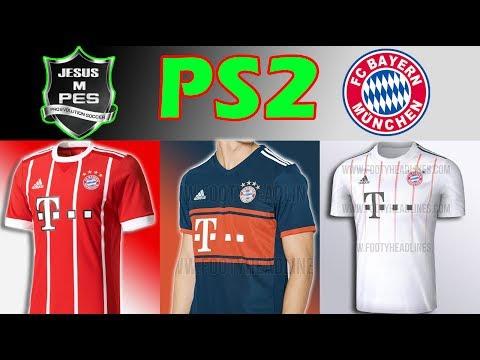 (PES PS2) Como Crear los Kits del FC BAYERN MUNICH 2017/2018