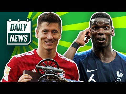 FC Bayern: Lewandowski will Aussprache! Transfer News: Courtois zu Real, Alisson zu Liverpool? Daily