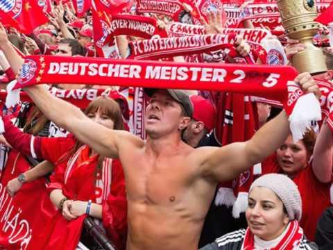FC Bayern Servus ihr Bayern (with lyrics)