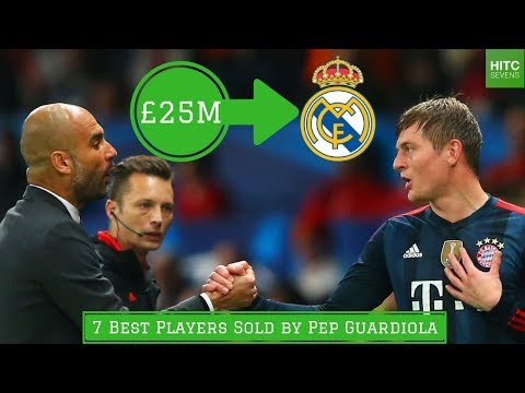 7 Great Players SOLD by Pep Guardiola
