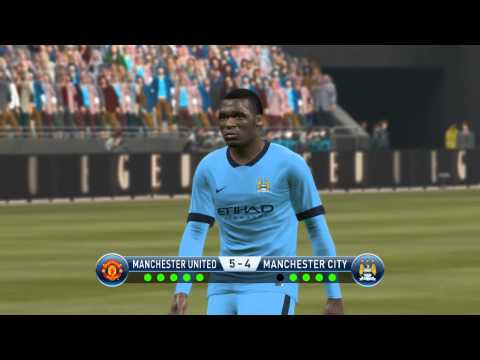 penalty shoot out Manchester United vs Manchester city fc pes 2015