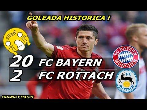 FC Rottach Egern 2 x 20 Bayern de Munique Melhores Momentos HD 08/08/2018