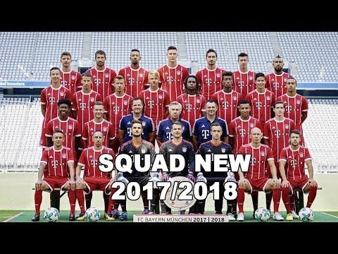 RESMI!! Skuat Bayern Munchen Terbaru 2017/2018 || Daftar Lengkap Pemain Bayern Munchen 2018