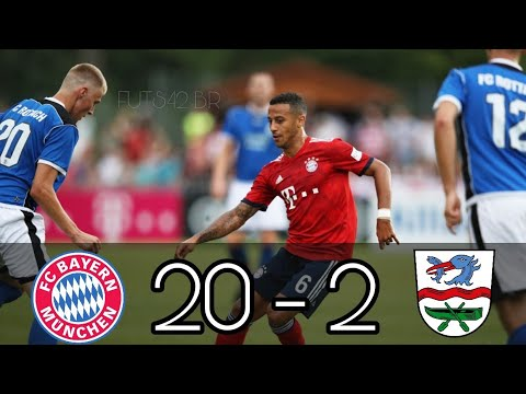 FC Rottach-Egern vs FC Bayern 2-20 | All Goals and Highlights (Todos os Gols)