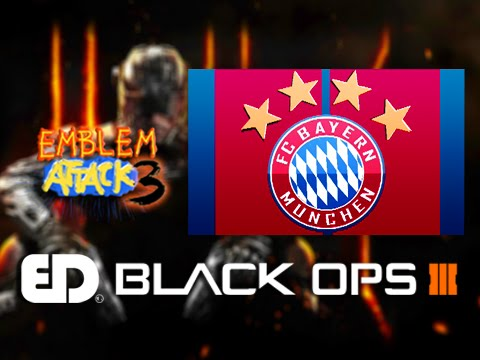 Black Ops 3: FC BAYERN MUNICH Emblem Tutorial (Emblem Attack 3)