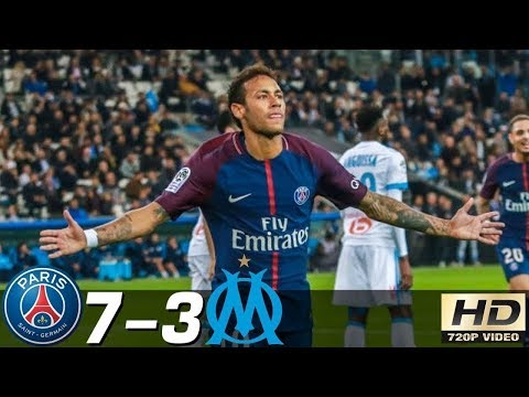 PSG vs Marseille 7-3 – All Goals & Extended Highlights RÉSUMÉN & GOLES (Last Matches) HD