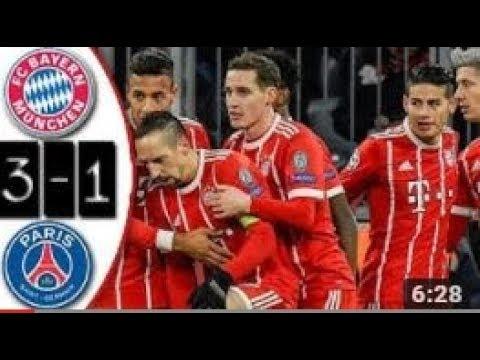 Bayern Munich vs PSG 3-1 PERDIO PSG CONTRA LOS ROJOS Resumen Highlights Goles Goals