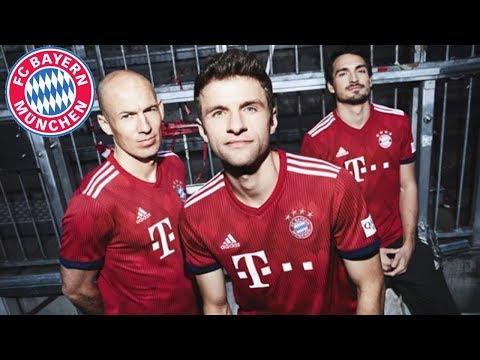 Nuevo Jersey del Bayern Munich 2018-2019 | OFICIAL