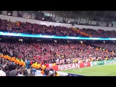Manchester City x FC Bayern Munich – 25-11-2014.
