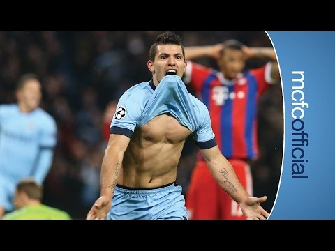 AGUERO HATRICK | City 3-2 Bayern Munich UCL | Post match interview