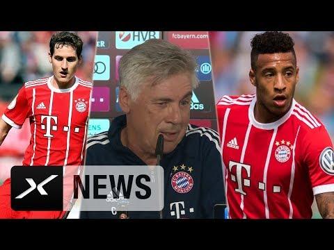 "Tolisso, Rudy? Carlo Ancelotti: ""Sehe Preis nicht"" | FC Bayern München – Bayer 04 Leverkusen"