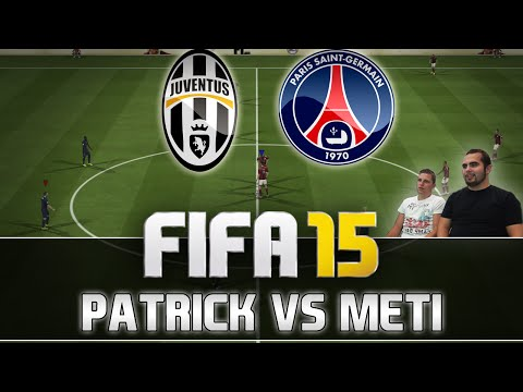 Fifa 15 | Juventus Turin vs. PSG [1080p] – 9 Goals Thriller Highlights | Patrick vs. Meti | MetiHD
