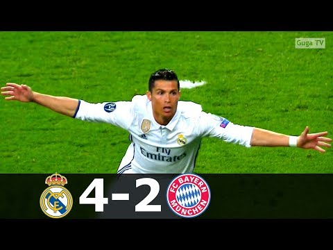 Real Madrid vs Bayern Munich 4-2 (a.e.t.) – UCL 2016/2017 – Highlights (English Commentary) HD