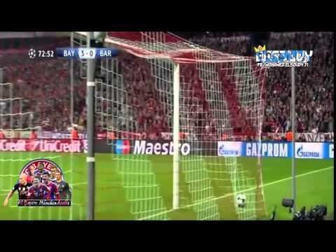 Bayern Munich 4-0 Barcelona    ᴴᴰ