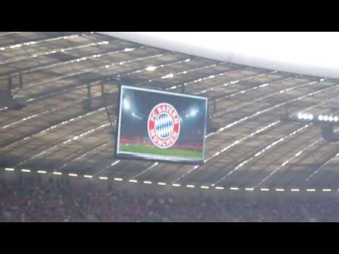 FC Bayern München – FC Nürnberg 24.8.2013. Players Introduction