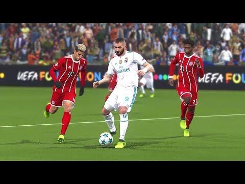 Real madrid vs Bayern munich – UEFA Champions League 2018 – Gameplay PC – 2019
