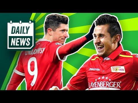 Lewandowski bittet FC Bayern um Freigabe! Delaney zum BVB? Schalke verpflichtet Berliner! Daily News