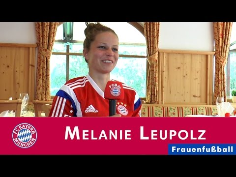 Im Portrait: Melanie Leupolz neu beim FC Bayern Frauenfußball 2014