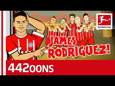 The James Rodriguez Song – Powered by 442oons