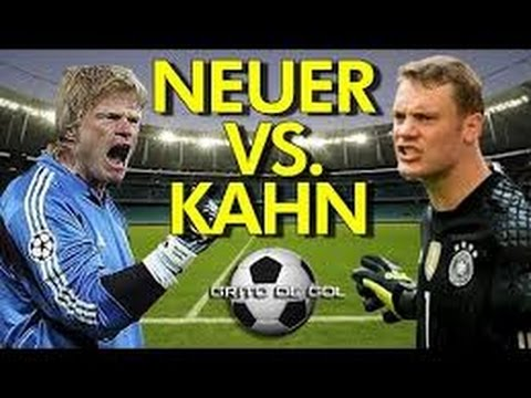 Manuel Neuer vs Oliver Kahn Hip Hop Song 2015