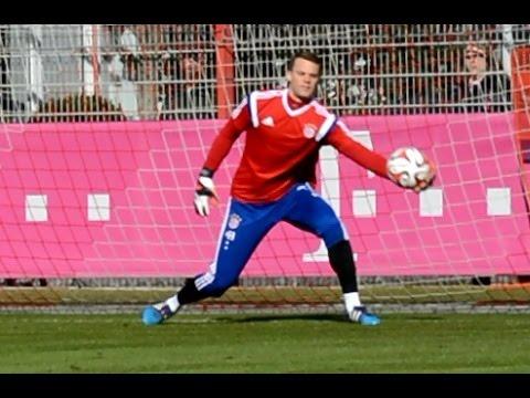 Manuel Neuer – Pepe Reina – Tom Starke – Ivan Lucic – Goalkeeper Training Torwarttraining FC Bayern