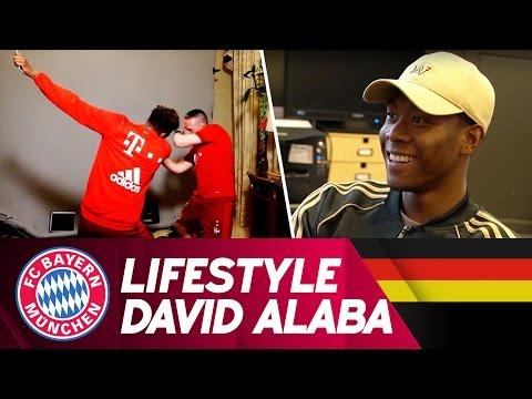 David Alaba | Lifestyle – 9 Jahre FC Bayern | FC Bayern.tv live
