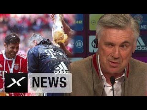 Carlo Ancelotti: Bedanke mich bei Philipp Lahm und Xabi Alonso | FC Bayern München