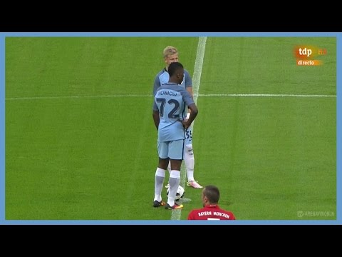 Oleksandr Zinchenko vs Bayern Munich (Away) [Debut for Manchester City] 20/07/2016 | HD