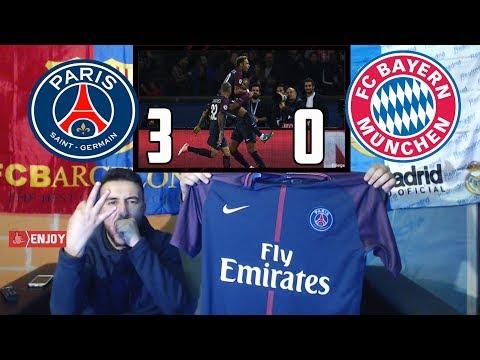 LA LIGA FANS REACT TO PSG DESTROYING BAYERN MUNICH 3-0 – LIVE REACTION