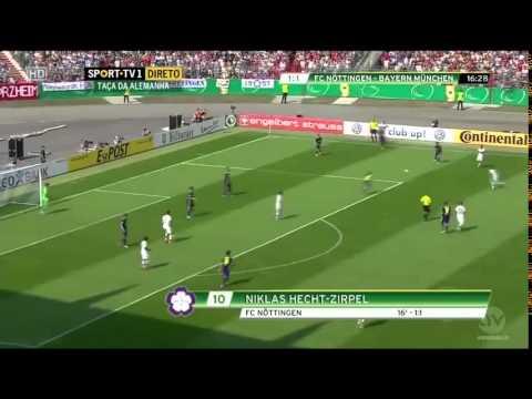 Bayern Munich VS Noettingen 3 – 1  DFB Pokal