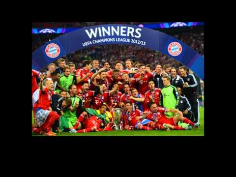 【祝CL優勝!】 Bayern Munich Song with Lyrics 【バイエルン】