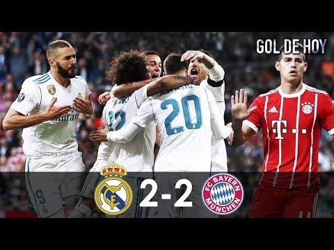 Real 2 Bayern 2 I Real Madrid vs Bayern Munich