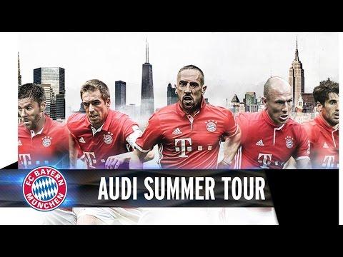 FC Bayern Audi Summer Tour USA 2016 | Trailer