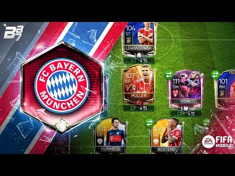 FULL BAYERN MUNICH SPECIAL CARD SQUAD! | FIFA MOBILE