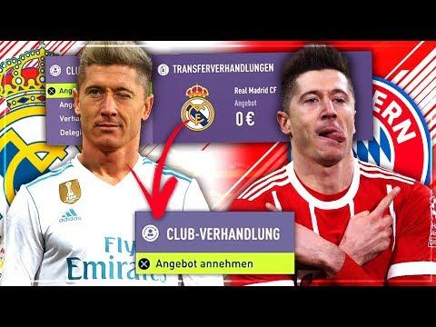 JEDES TRANSFERANGEBOT mit dem FC BAYERN AKZEPTIEREN!! 🔥😱💰 –  FIFA 18 FC Bayern Karriere Challenge