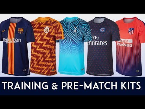 Training & Pre-Match Kit Of The Biggest Clubs  II 2018 – 19 II
