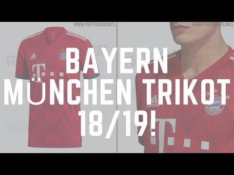 GELEAKED! : Das neue FC BAYERN MÜNCHEN Trikot 2018/19 (Liga/International/Champions League)?