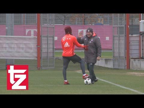 """Hermann Gerland erteilt Renato Sanches Nachhilfe – Einzeltraining beim """"Tiger"""" (FC Bayern)"""