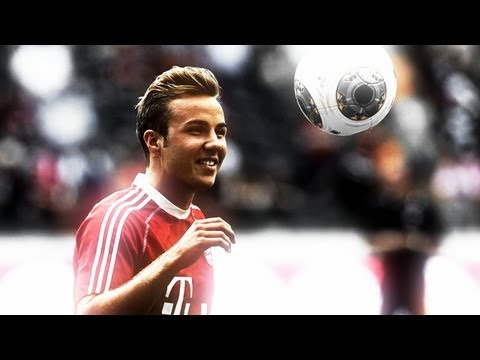 Mario Götze ▼ Goals & Assists – 2012/2013 | FC Bayern Munich