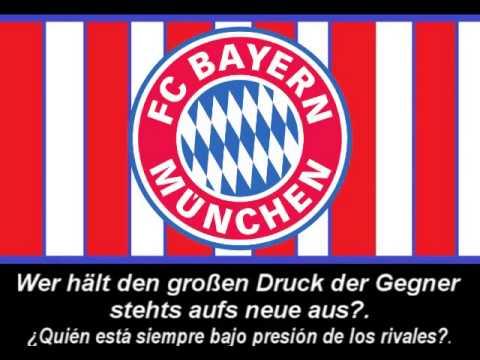 """♪♪♪ El himno del FC Bayern München """"Stern des Südens"""" (Subtítulo en español) ♪♪♪"""