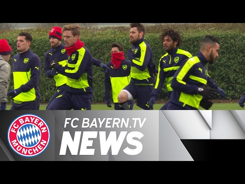 Arsenal arrive in Munich feeling optimistic